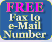 FREE Fax to  e-Mail Number