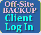 Off-Site BACKUP  Client    Log In